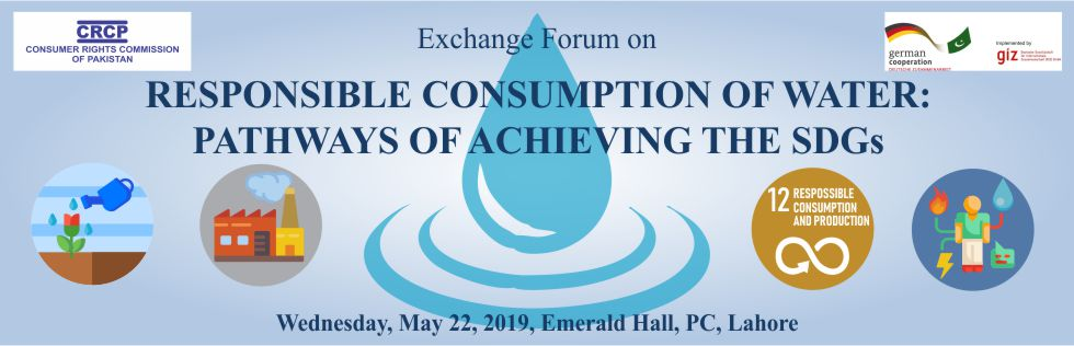 RESPONSIBLE CONSUMPTION OF WATER:  PATHWAYS OF ACHIEVING THE SDGs
